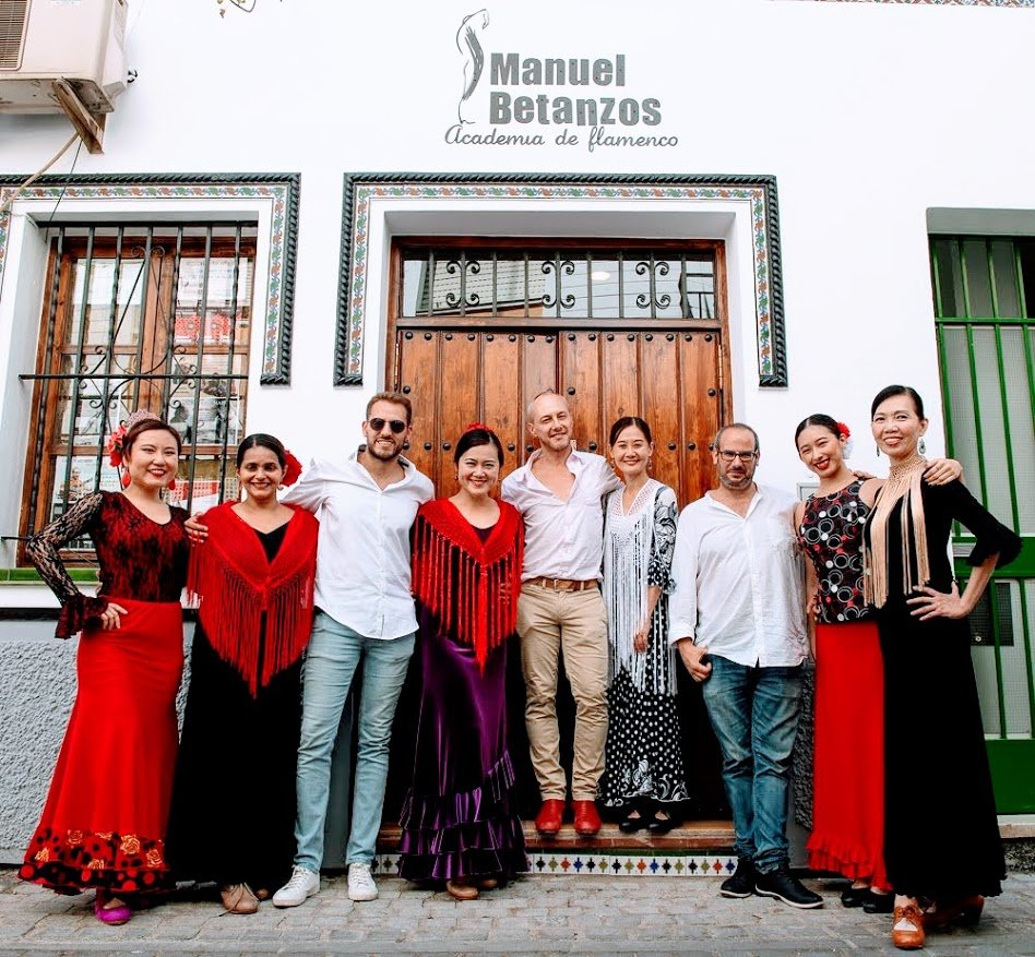 Academia de Manuel Betanzos, Singapore Flamenco, Spain Flamenco Seville Flamenco
