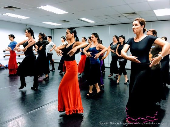 Paloma Gomez, Singapore Flamenco & Classical Spanish Workshop 2017