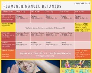 Flamenco Singapore Manuel Betanzos