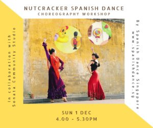 Spanish Dance Singapore Nutcracker