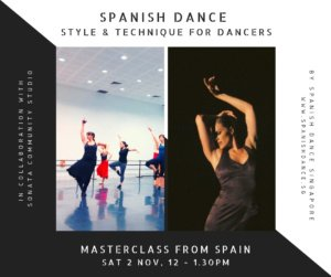 Spanish Dance Masterclass Paloma Gomez