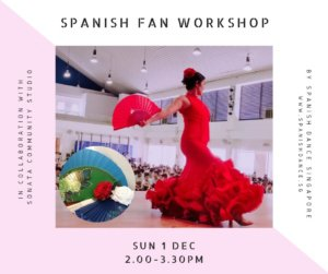 Spanish Dance class - Fan