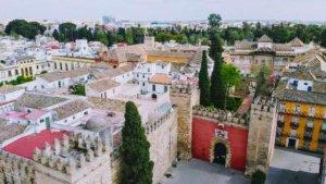 Sevilla under lockdown