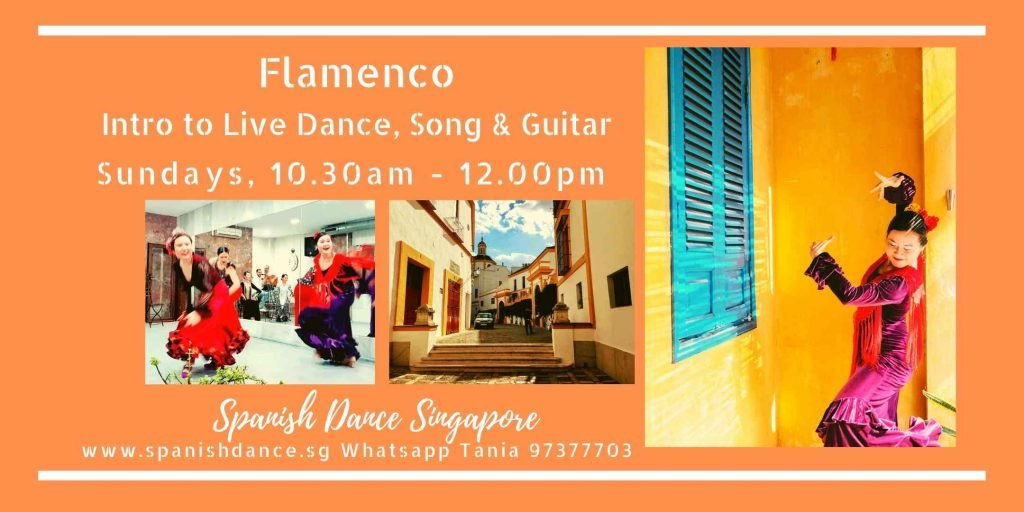 Flamenco song, dance guitar singapore