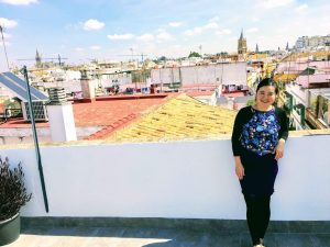 Tania Seville rooftop Spain