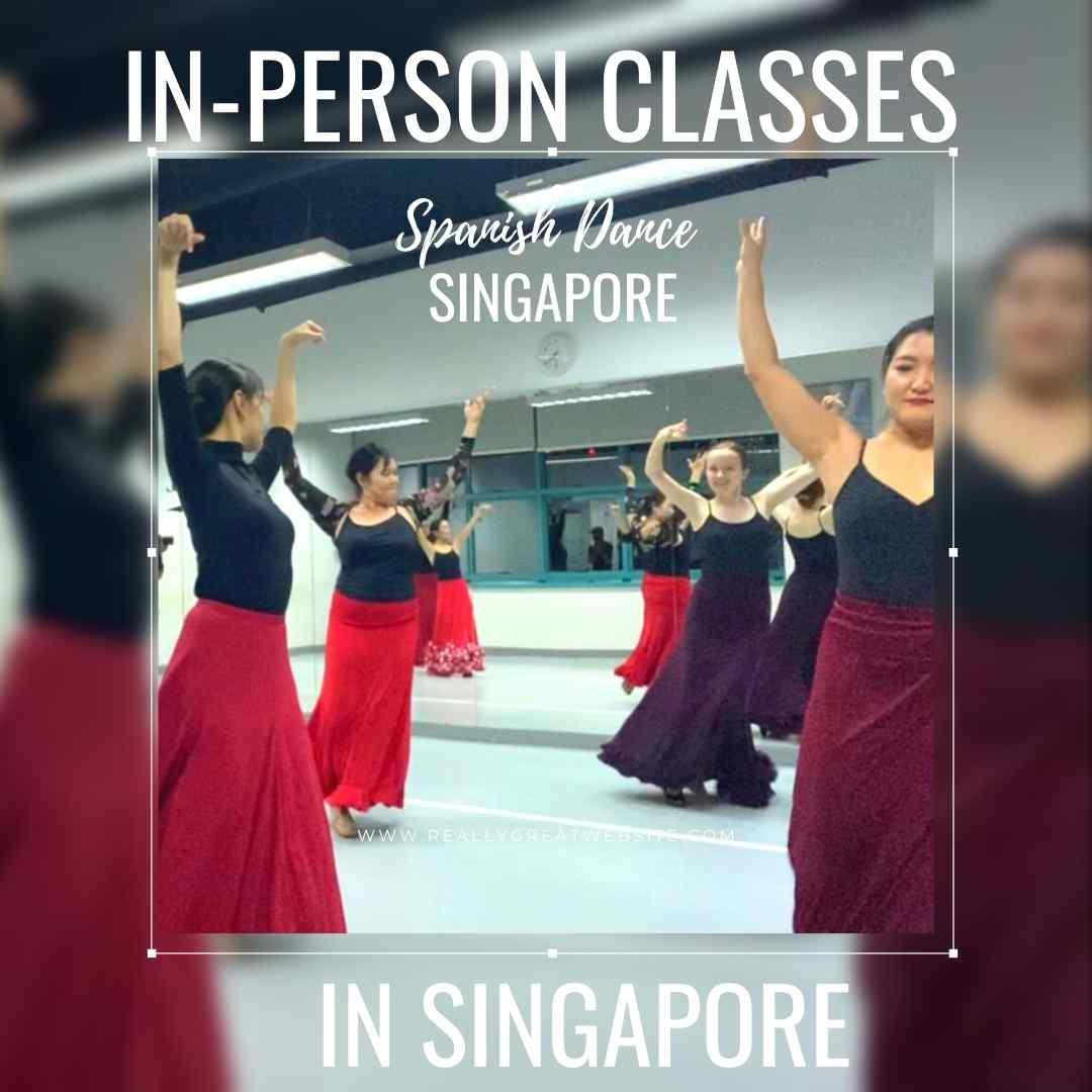 Flamenco classes singapore