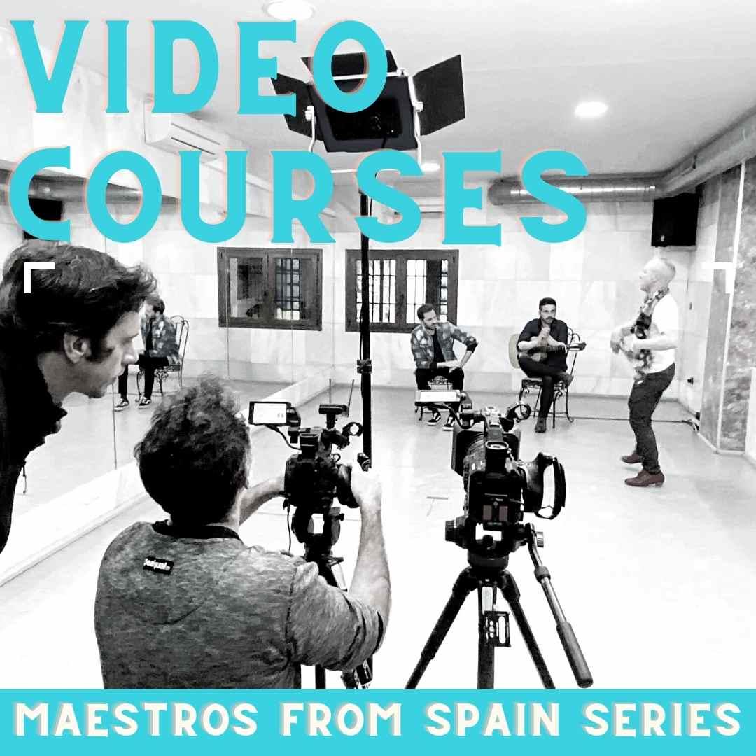 maestros flamenco video courses