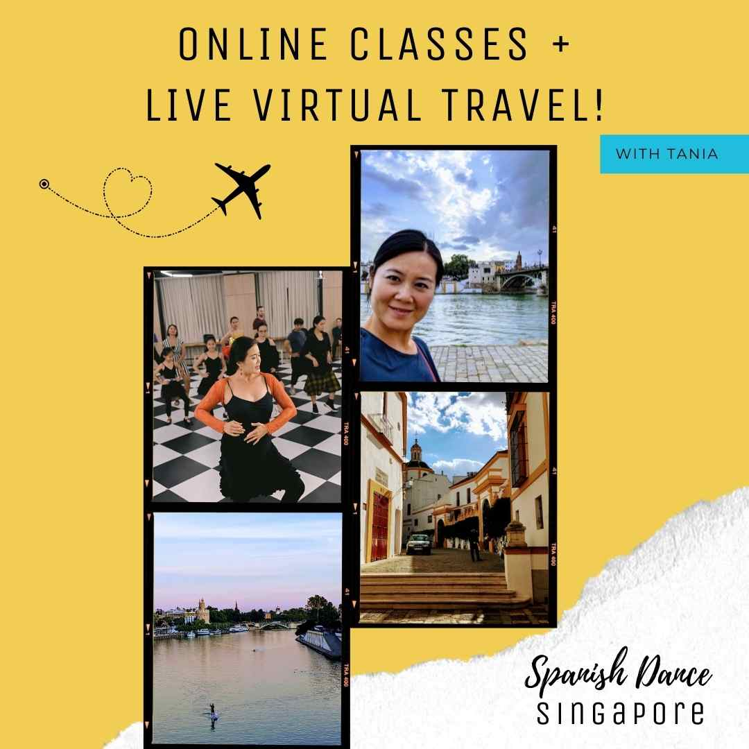 Online Flamenco Class with Tania & Virtual Tour Spain