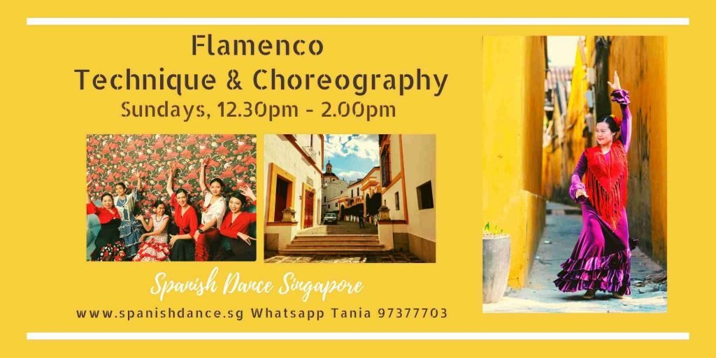 Spanish Dance Flamenco Singapore